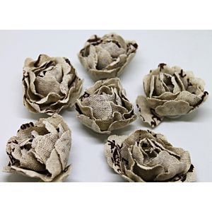 Burlap Flower Stickers - September 19 Add On
