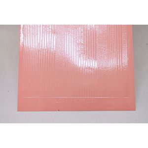 Pin Stripe Peel-Off Stickers - Apricot