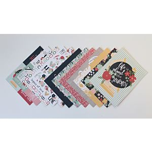 Home Sweet Home - Heavyweight Patterned Papers - 6x8 Inches - October 19 Add-on