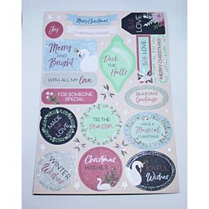 The Enchanted Lake Die Cut Sentiment Die Cuts