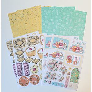 Hey Sweetie Decoupage Pack - January 20 Add On