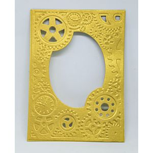Cogs - Cut And Emboss Folder - March 20 Add On