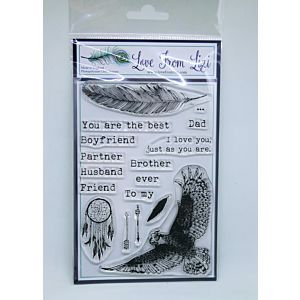A Moment In Time - LFL Stamp Set