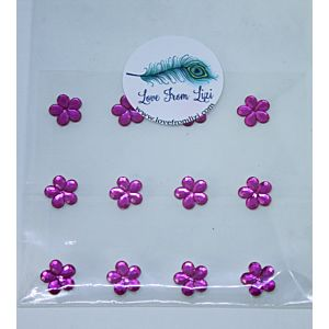 Pink Flower Gems - May 20 Add On