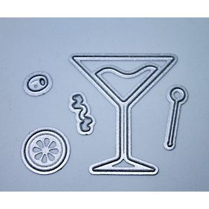 Cocktail Glass - Cutting Dies
