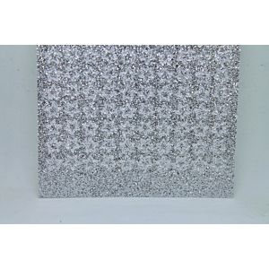 Mini Star Peel-Off Stickers - Silver Glitter