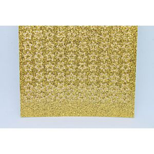 Mini Star Peel-Off Stickers - Gold Glitter