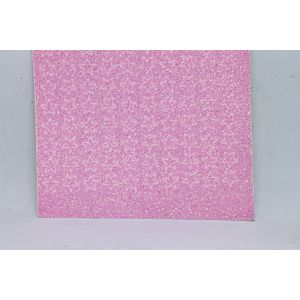 Mini Star Peel-Off Stickers - Clear Iridescent Pink Glitter