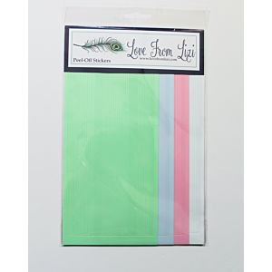 Love You Always - 'Pin Stripe' Peel Off Pack