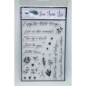 Enjoy The Little Things - LFL Stamp Set