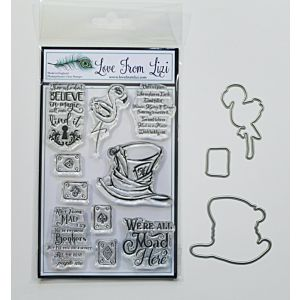 Gone Mad - LFL Stamp And Die Set - September 20 Add On