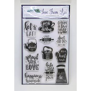 Happiness Is Homemade - LFL Stamp Set