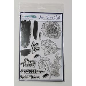 Warm Thanks - LFL A5 Stamp Set