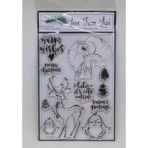 Warm Winter Wishes - LFL Stamp Set