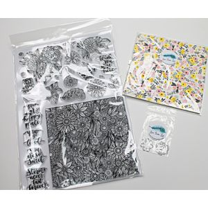 Happy days LFL A4 Stamp Set - Plus Free Gifts!