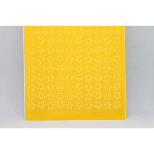 Mini Star Peel-Off Stickers - Yellow