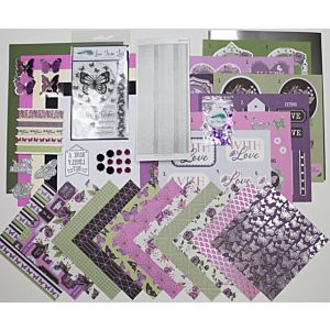Love From Lizi May 21 Card Kit - Butterfly Wishes
