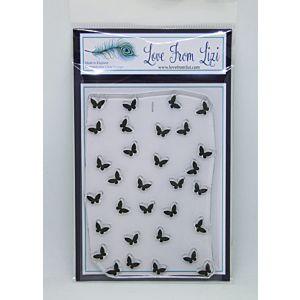 Mini Butterfly Background - LFL Stamp Set