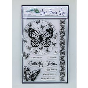Butterfly Wishes - LFL Stamp Set