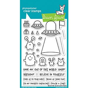 Beam Me Up - Stamps - Lawn Fawn