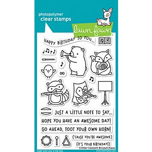 Critter Concert - Stamps - Lawn Fawn