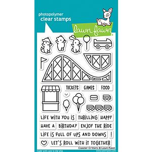 Coaster Critters - Stamps - Lawn Fawn