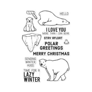 Hero Arts - Polar Greetings - Stamp Set