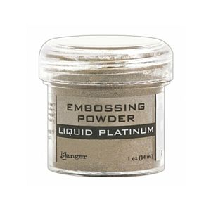 Liquid Platinum Embossing Powder - Ranger
