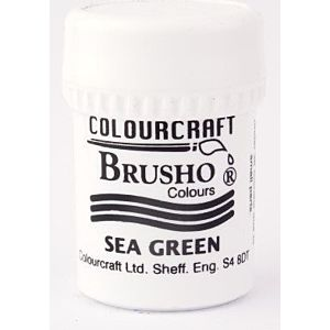 Colourcraft Brusho - Sea Green - LFL September 18 Add On