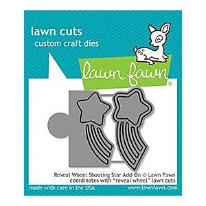 Reveal Wheel Shooting Star Add on - Lawn Cuts - Lawn Fawn