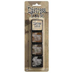Tim Holtz Mini Distress Ink Kit Three