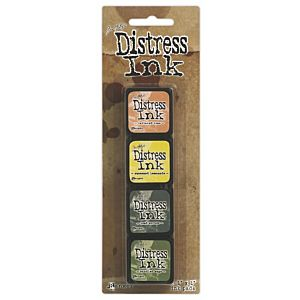 Tim Holtz Mini Distress Ink Kit Ten