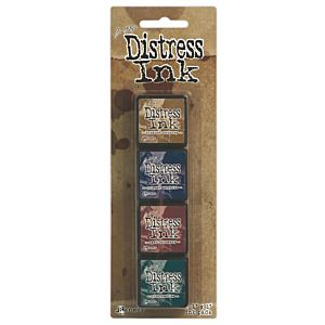 Tim Holtz Mini Distress Ink Kit Twelve