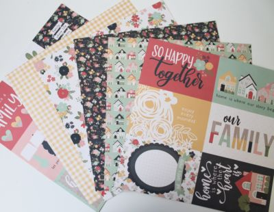 Home Sweet Home 12 x 12 Bundle - October 19 Add On