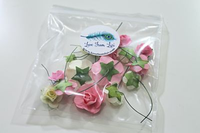 Happy Days Paper Flowers - February 20 Add On
