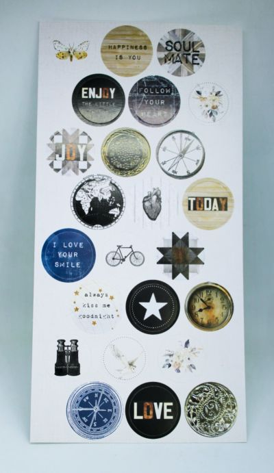 A Moment in Time - Circular Stickers - March 20 Add On
